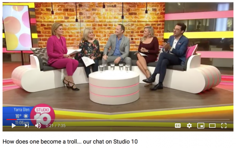 Marks chat with the team @Studio10: How does one become a troll…