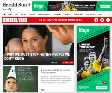 Why we should stop hating people we don't know: lead story across Newscorp Australia