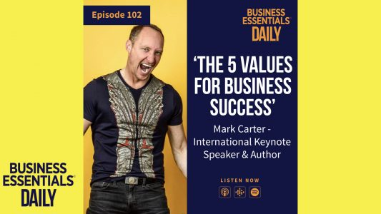 The Five Values For Business Success: A Podcast with Business Essentials Daily – Sound Cartel Au
