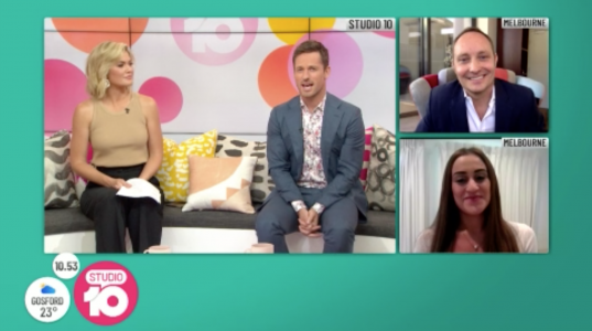 STUDIO 10 Live TV segment: How much social is too much – Add value and social media in the digital age