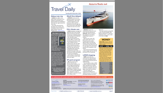 Travel Daily:  Add Value – Five daily give aways to support travel